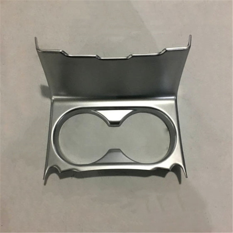 FIT For 2017 <font><b>Mazda</b></font> <font><b>cx5</b></font> cx-5 abs electroplating carbon fiber cup decoration box internal and external modifications image
