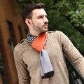 Зима новый джентльмен качество хлопка Шарф Платок Вязание кисточкой мужчины мальчик Шарфы