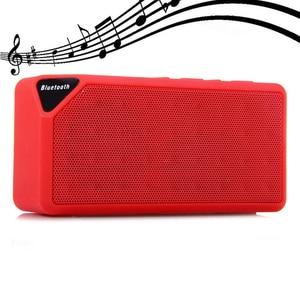 Image 2 - M & J Bluetooth スピーカー X3 Jambox スタイル TF USB FM ワイヤレスポータブル音楽サウンドボックスサブウーファースピーカーとマイクカイシャ · デ · ソム