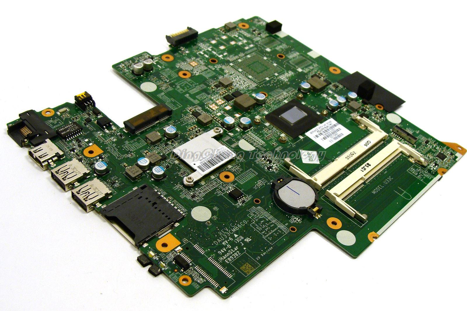 HOLYTIME laptop Motherboard For hp PAVILION 14 704989-001 DAU33CMB6C0 DDR3 <font><b>i5</b></font>-<font><b>3210M</b></font> cpu with integrated graphics card image