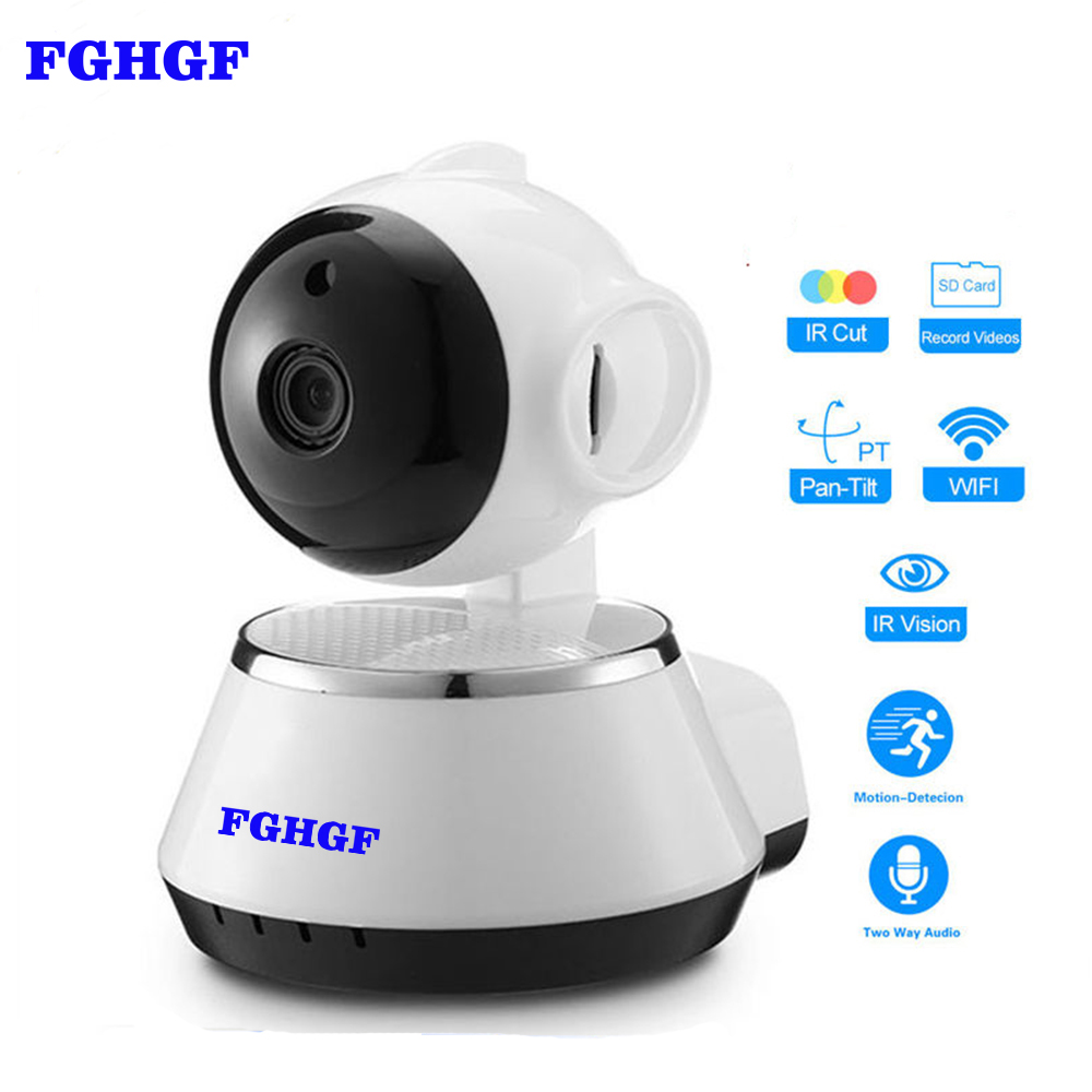 FGHGF Home Security IP Camera Wireless WiFi Camera Surveillance 720P Night Vision,Pan/Tilt /Two Way Audio CCTV Baby Monitor