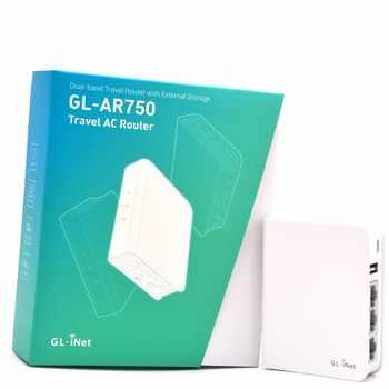 Gl。inet GL-AR750 802.11ac 750 150mbpsのミニワイヤレスwifiルータデュアルバンドopenvpn旅行5 ghz lede openwrtルーターusb +マイクロsdスロット - DISCOUNT ITEM  10% OFF パソコン & オフィス