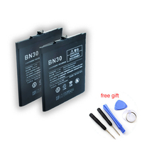 New BN30 Replacement Parts Batteries Mobile Phone Battery For Xiaomi Redmi 4A Battery Hongmi 4a Bateria