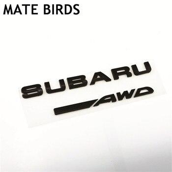 Mate Vogels Subaru Auto Gemodificeerde Logo Bos Menselijk Leeuw Xv