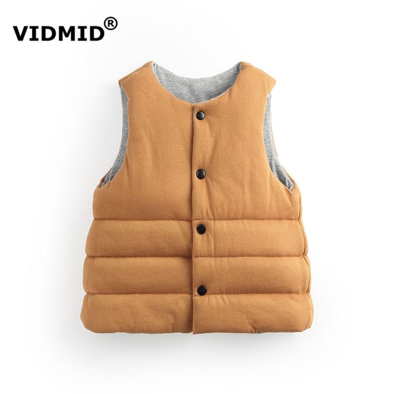 1-5Y baby boy vest girls Vest children waistcoat outerwear boys winter jacket kids clothing children jackets for baby 2219 02