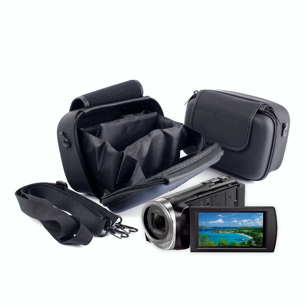 Fully Padded Camcorder Camera Dv Bag Case Pouch For Sony Pj670 Pj675 Pj240 Pj350 Pj410 Cx400 Cx405 Cx610e 30e 40e Panasonic Dv Dv Bag Pouch For Cameracamera Pouch Aliexpress