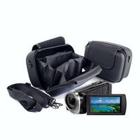 Volledig Gevoerde Camcorder Camera DV Bag Case Pouch Voor SONY PJ670 PJ675 PJ240 PJ350 PJ410 CX400 CX405 CX610E 30E 40E Panasonic DV