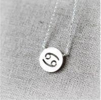 Zodiac Constellation Signs Necklaces (12 Constellation) 2