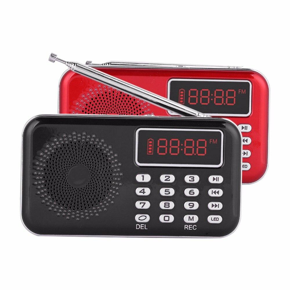 Tragbares Audio & Video Y-619 Noise Cancelling Fm Radio Usb/tf/aux Musik Stimme Aufnahme Mp3 Player Radio Mit Pw Cut Speicher Radio