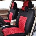 Tampa de assento do carro conjunto universal fit para 5 assento 2/4/5 encosto de cabeça tampa de assento dianteiro e traseiro splite 40/60 ou não disponível carro-cover