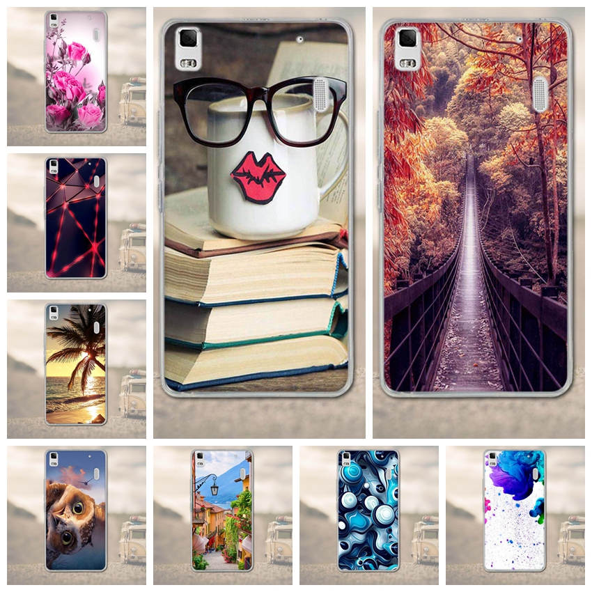 TPU Soft Cover for Lenovo K3 Note A7000 Phone Case Back Cover Mobile Phone Cases for Fundas <fo