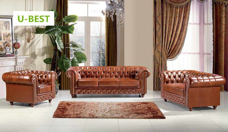 U BEST Leder Chesterfield Sofas, Distinctive Chesterfields Erhältlich Als 3  Sitzer 2 Sitzer
