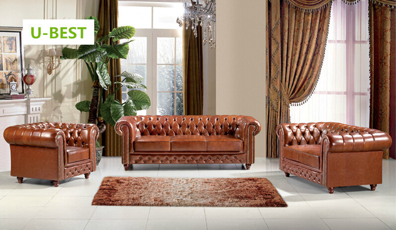 U BEST Leather Chesterfield Sofas, Distinctive Chesterfields Available As 3  Seater 2 Seater Or