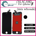 No Dead Pixel Screen For iPhone 5 5s 5c 5se LCD Display Touch Screen Digitizer Assembly Replacement Mix wholesale