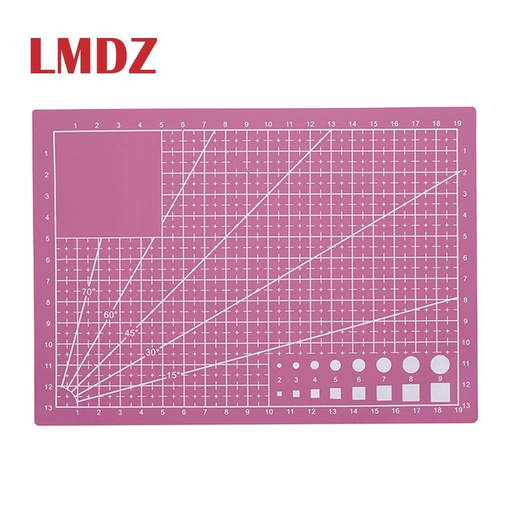 LMDZ A5 Pvc Cutting Mat Cutting Pad Patchwork Cut Pad A3 Patchwork Tools Manual DIY Tool Cutting Board Single-sided Self-healing