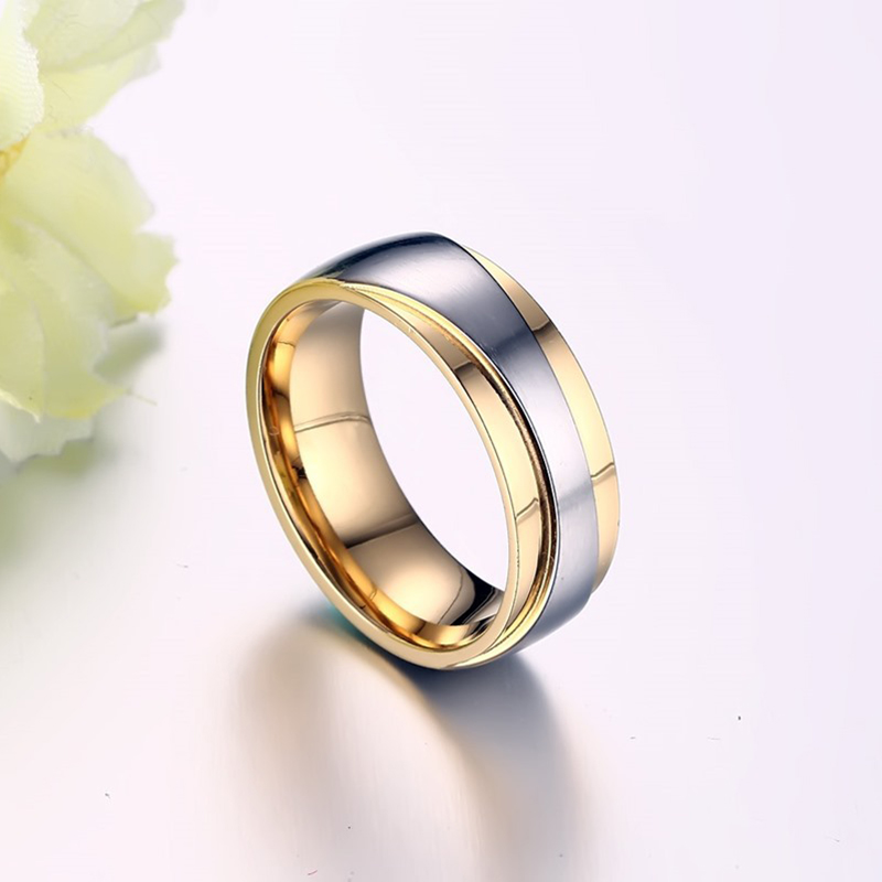 2016 New Couple Ring for Women and Men Love Ring Quality Stainless - Fashion Jewelry - Photo 4