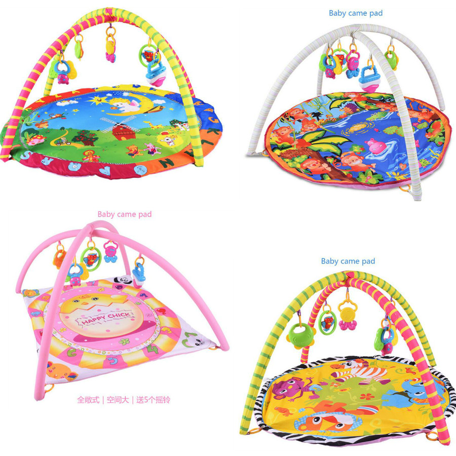 Top Quality Baby Toy Baby Play Mat Game Tapete Infantil Boys Girls Educational Crawling Mat Play Gym Kids Blanket Carpet