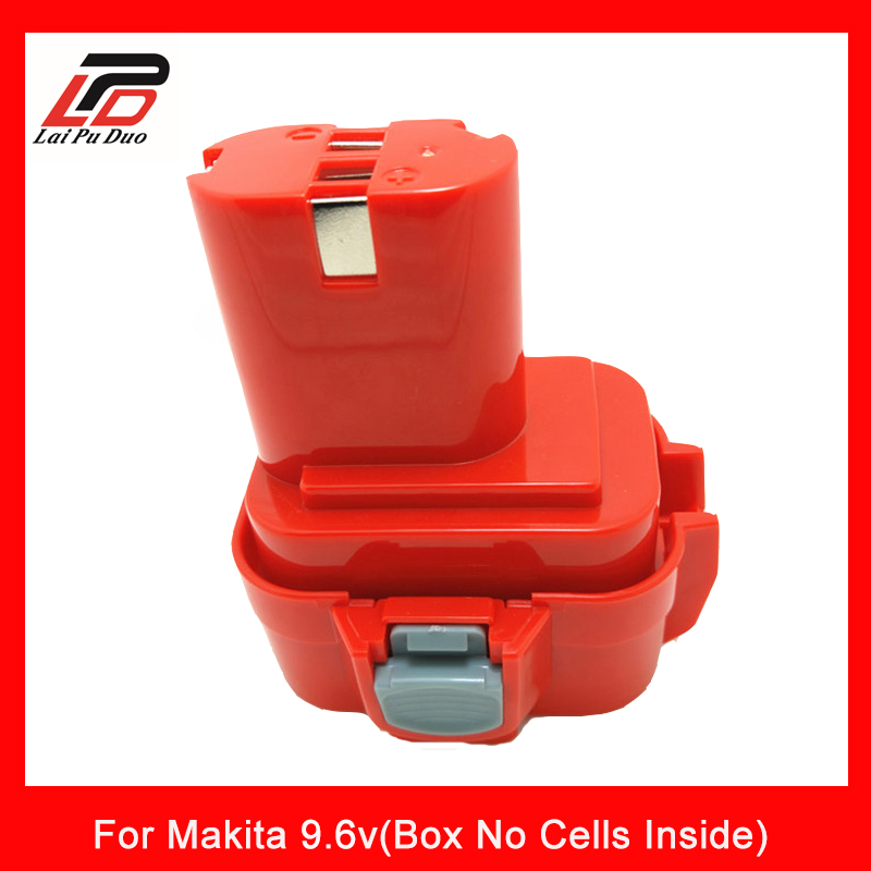 For Makita 9.6v NI-MH NI-CD Rechargeable Battery case Plastic Shell( Box No Cells Inside)