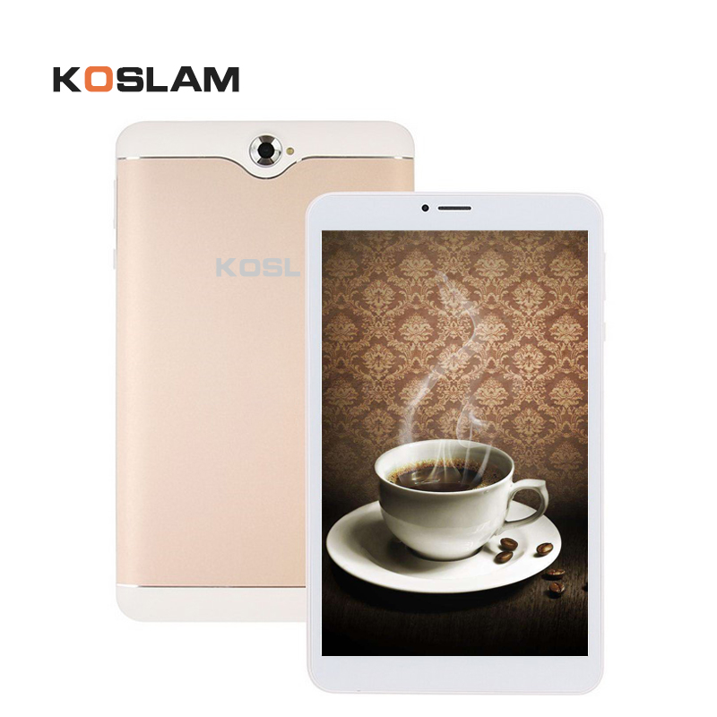 KOSLAM Android 7 MTK Quad Core 7 Inch tablet PC 1GB RAM 8GB ROM Dual SIM Card  Slot AGPS WIFI Bluetooth
