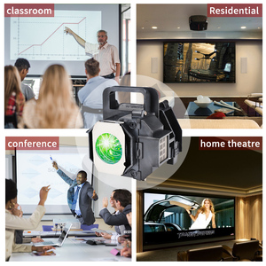 Image 4 - HAPPYBATE ELPLP49/V13H010L49 Compatible Lamp with Housing for EH TW3200 EH TW3500 EH TW3600 EH TW3800 EH TW4000 TW4400 TW4500