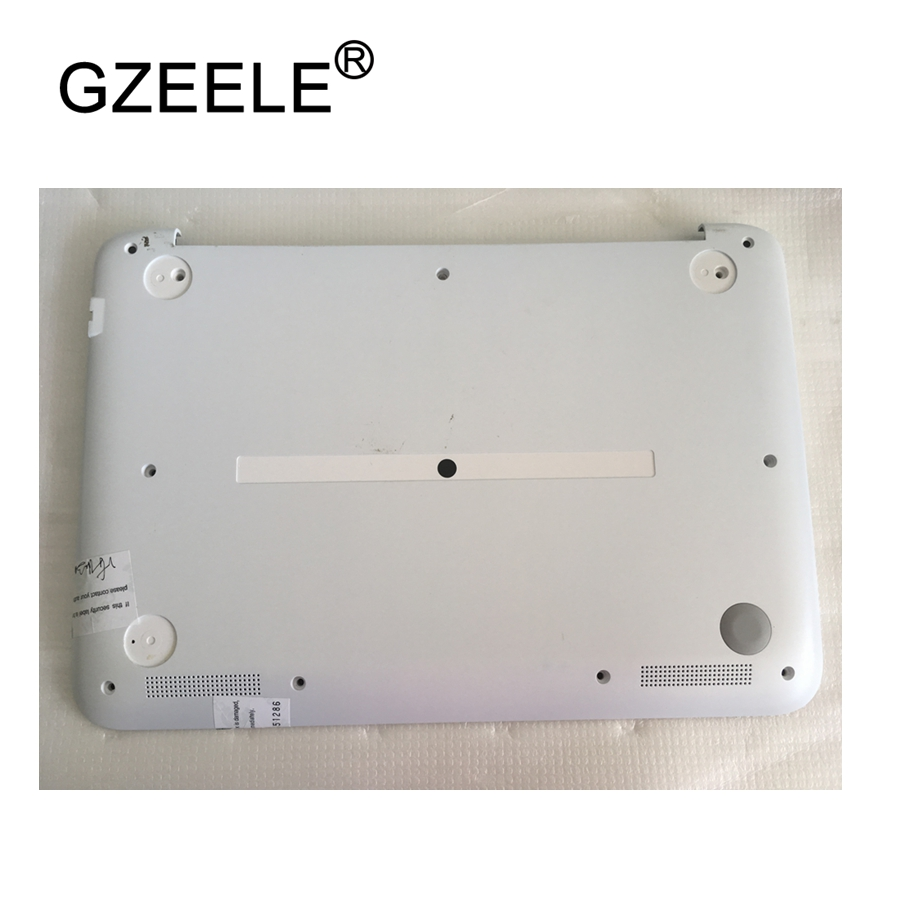 GZEELE NEW laptop Bottom Base Cover Bottom Case For HP Stream X360 11 11-N 11-P lower cover new for dell alienware 13 m13x bottom base cover case 0cr1w9 ap1fu000310
