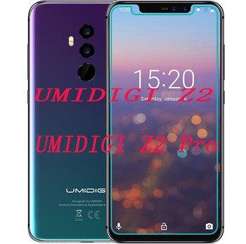 Перейти на Алиэкспресс и купить 2 шт Новый протектор экрана мобильного телефона для UMIDIGI Z2/Z2 PRO 6,2 дюйм9 H Закаленное стекло Защитная пленка для экрана