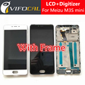 """Meizu M3S mini LCD Display + Touch Screen With Frame High Quality HD Digitizer Assembly Replacement For 5.0"""" Mobile Phone"""