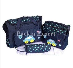 Mamu Mami Mother Diaper bag Food Bottle Multifunction Set For Baby Girl Boy Newborn Pink Blue mama bag