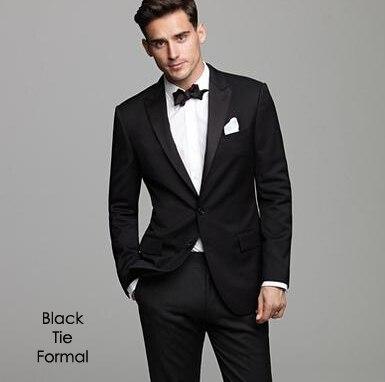 Aliexpress.com : Buy Custom tailor Fashion Black Groom Tuxedos ...