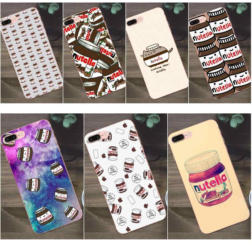 Bixedx Another Nutella Wallpaper Kawaii Cute For Apple Iphone 4 4s 5 5c Se 6 6s 7 8 Plus X Galaxy A3 A5 J1 J2 J3 J5 J7 2017 Phone Case Covers Aliexpress