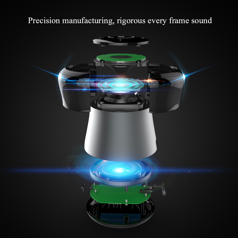 mifa a3 touchable waterproof bluetooth wireless loudspeaker with 10w stereo music and bass