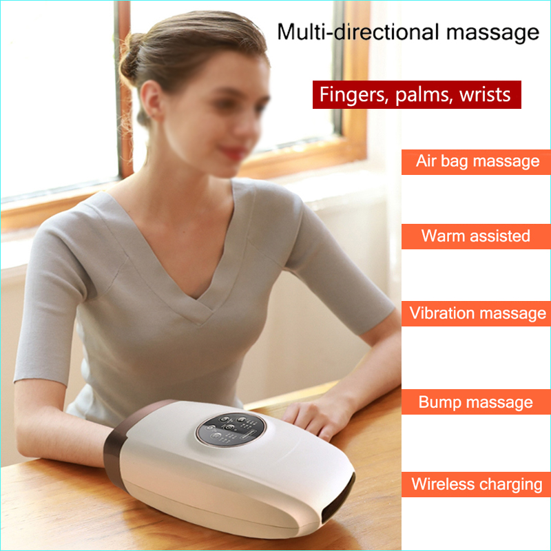 Electric Acupressure Palm Massager Protector Beauty Hand Care Relax Tools