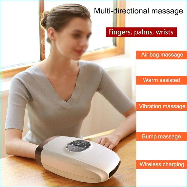 Eléctrica de acupresión masajeador para palma de mano Protector de belleza cuidado de la mano herramientas para relax