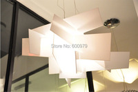 Free shipping dia 90cm Vicente Garcia Jimenez's Big Bang Chandelier Modern aluminium acrylic pendant lamp lighting fixture
