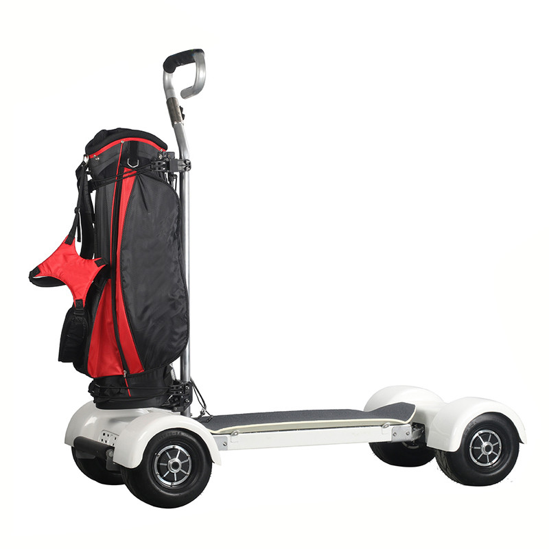 Hot Electric Scooter 4 Wheels For Golf Board Cart