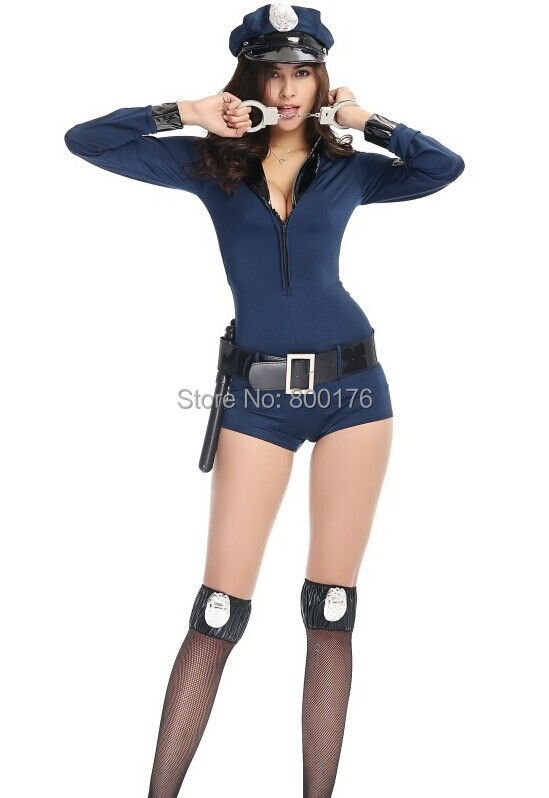 new style sexy adult halloween costume police officer uniform - Halloween Costumes Prices