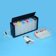 277 T2771 - T2776 CISS Bulk ink System For Epson XP-960 XP-750 XP-850 XP-950 XP-650 XP-860 Printer With ARC Chips цены
