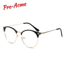 Pro Acme Women Retro Cat Eye Glasses Frame Optical Prescription