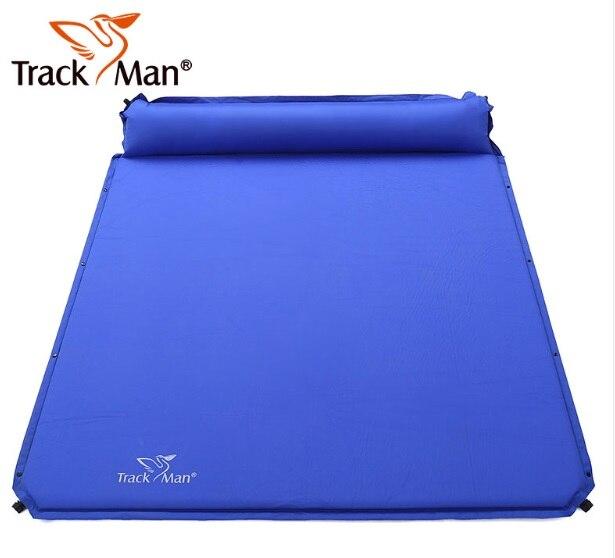2017 on sale Trackman 2 pesron automatic inflatable mattrress moisture-proof mat lunch cusion BBQ pad outdoor cmaping mattress 2017 on sale Trackman 2 pesron automatic inflatable mattrress moisture-proof mat lunch cusion BBQ pad outdoor cmaping mattress