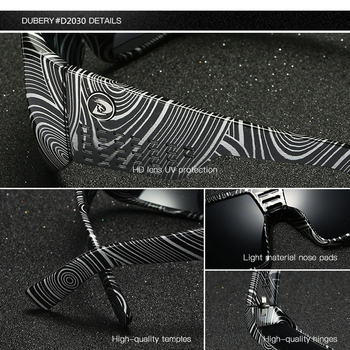 DUBERY Oversized Sunglasses  2