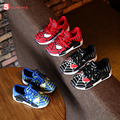 Children Shoes high quality soft Sneakers Autumn Cartoon Sport Fashion Boys baby Shoes Spider-Man Kids Slip-resistant Breathable