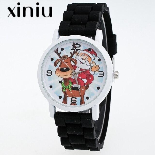 XINIU Children's Watches candy Color Fashion Watch soft Silicone belt Wrist quar