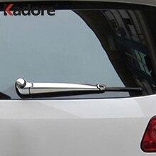 Для Volkswagen Tiguan 2009 2010 2011 2012 2013 ABS хромированный задний Чехол для стеклоочистителей, накладка на заднюю часть автомобиля, аксессуары