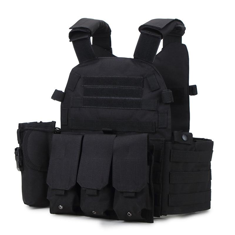 2020 Colete Tatico Loja Artigos Militares Airsoft Tactical Vest Leapers Law Enforcement Molle Tactical Vest SWAT Schutzweste