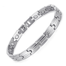Stainless Steel Bracelet with Electroplate