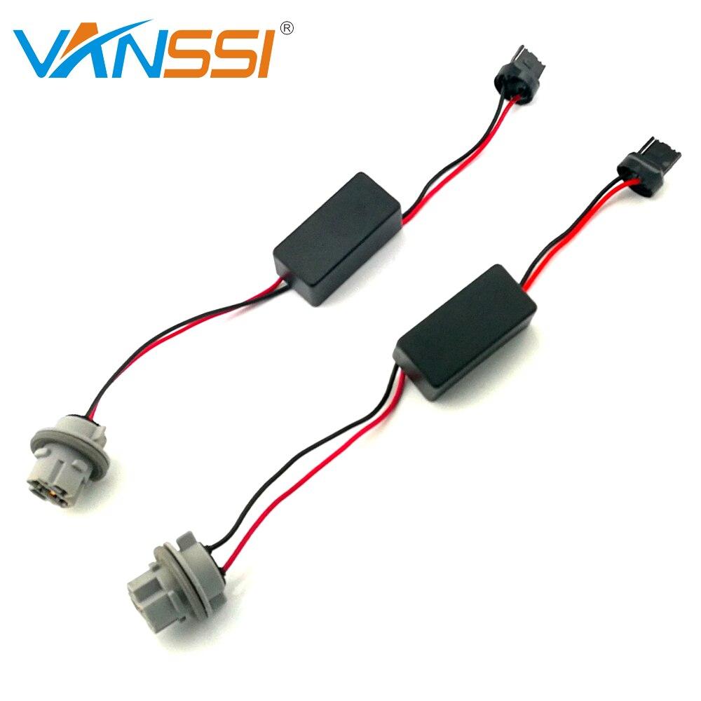 VANSSI 2Pcs T20 7440 7440NA W21W WY21W Canbus Error Free Resistor ...