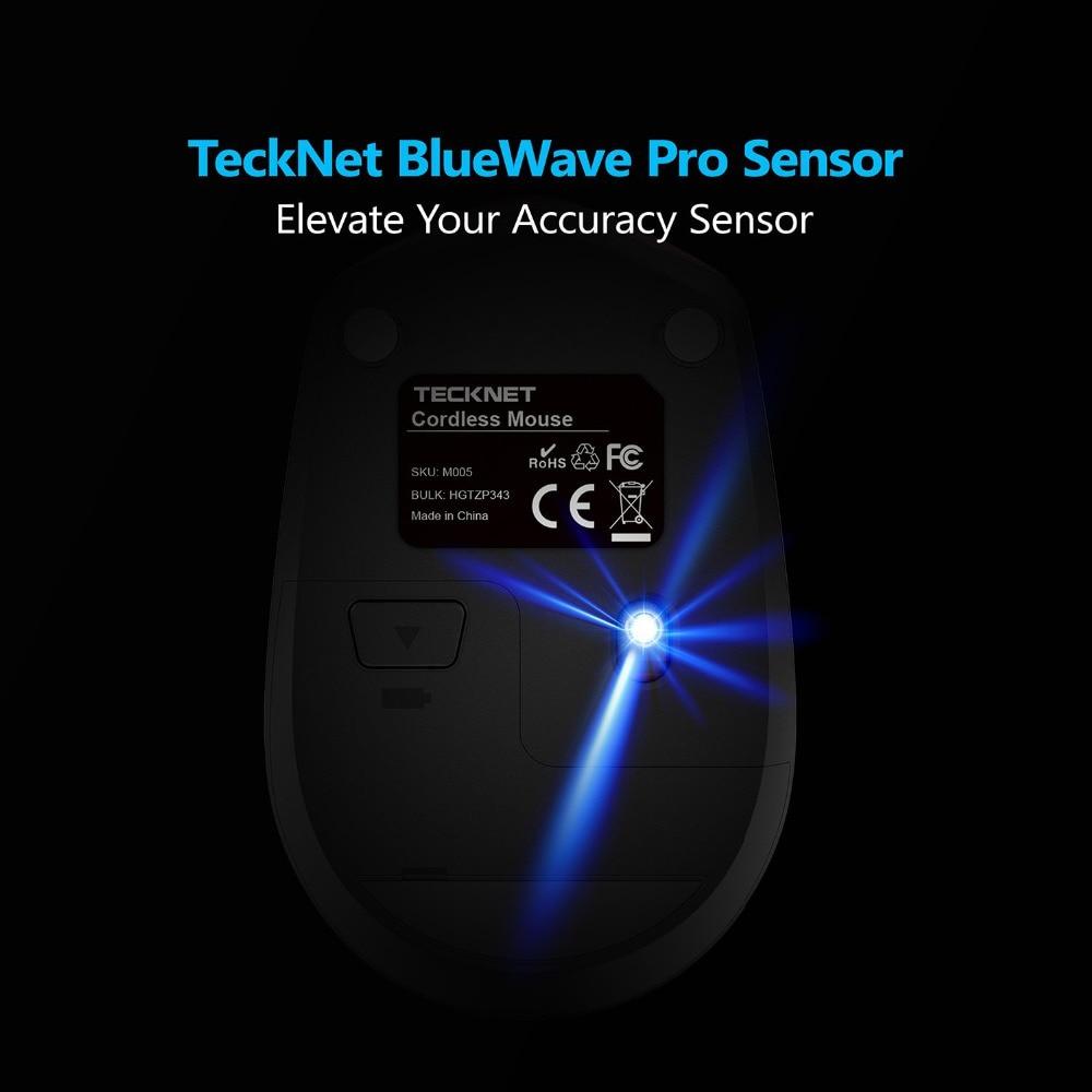 TeckNet Omni Mini 2.4G vezeték nélküli egér, 18 hónapos - Számítógép-perifériák - Fénykép 6