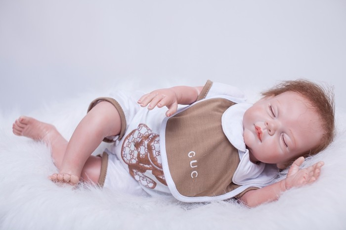 20inch NPK Collection silicone Newborn Baby Doll Lifelike sleeping 48cm fashion bedtime toys dolls wholesale  Birthday Gift20inch NPK Collection silicone Newborn Baby Doll Lifelike sleeping 48cm fashion bedtime toys dolls wholesale  Birthday Gift