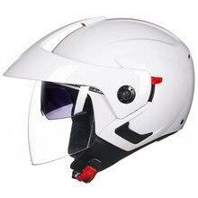 Матовый черный шлем мотоциклетный открытый шлем Capacete мотоциклетный шлем Motocicleta Cascos Para мото гоночные мотоциклетные шлемы