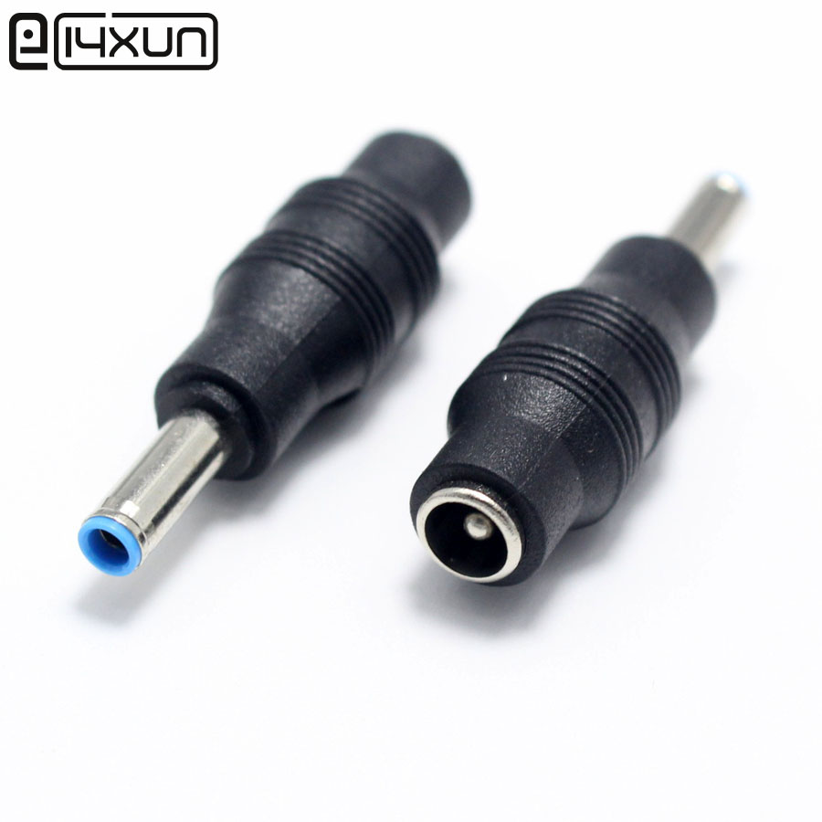 DC Power Adapter Connector Plug DC Conversion Head Jack Female 5.5*2.1 Mm Plug Male 4.5*3.0 With Pin For HP Envy Ultrabook